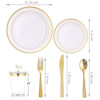 Wholesale Custom Dish Gold Stainless Steel Dinnerware No Metal Aftertaste Opp Bage Packed from china suppliers