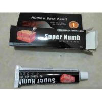 Wholesale OEM 30g Super Numb Lidocaine Pain Relief Tattoo Anesthetic Cream from china suppliers