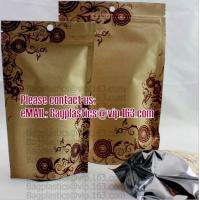 Wholesale Kraft paper bags, Cookie packaging, Tea pack, Coffee pack, Oil packaging, Juice pack from china suppliers