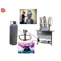Wholesale High Capacity Aerosol Spray Paint Can Filling MachineSemi Automatic from china suppliers