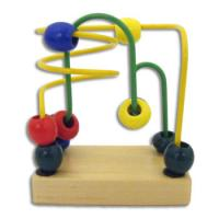 Wholesale Lion Colorful beads wooden Rack-education toy from china suppliers