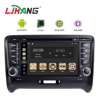 China Steering Wheel Control Audi In Car Dvd Player , Audi TT Car Dvd Player Gps Navigation on sale