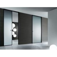 Buy cheap High Light Transmission Tempered Glass Door Satin Acid Etched For Semi Private Squares from wholesalers