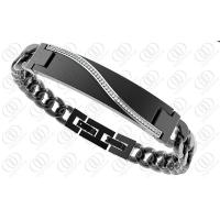 Wholesale Medical Id Stainless Steel Bracelets Engraveable 240mm Length from china suppliers