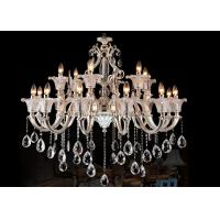 Wholesale Custom 2 Layer Large Modern Chandelier Lighting 18 Light with Incandescent / LED Bulbs from china suppliers