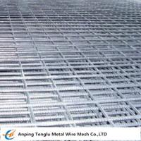 Wholesale Welded Steel Bar Grating|Black or Galvanized Steel Mesh for Floor or Concrete from china suppliers