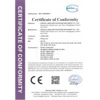 Suzhou Labelong Packaging Machinery Co., Ltd. Certifications