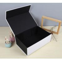 Wholesale Black Luxury Paper Gift Box Custom Printed Stationery Boxes from china suppliers