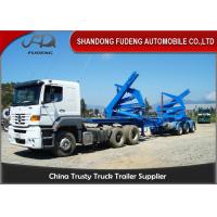 Wholesale Tri Axles Slidable Steel Side Loader Trailer  37 Tons Payload Capacity from china suppliers