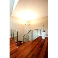 Wholesale Stainless Steel Deck Glass Railing/ Balcony Glass Balustrade Interior Railing Design from china suppliers