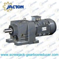 China 1/4HP 0.18KW R RX Series helical agitators reduction gearbox gear motor Specifications on sale