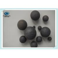 Wholesale Good Wearing Resistance Forged Steel Grinding Balls Mining , Cement plant from china suppliers
