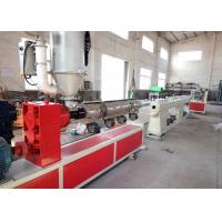 Wholesale Computer Control Plastic Pipe Extrusion Machine , Twin Screw Pvc Tube Making from china suppliers