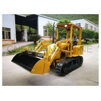 Wholesale Cheap Chinese Farm Machiney Mini Bulldozer with 4-in-1Front Loader from china suppliers