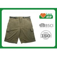 Anti - Static Olive Quick Dry Pants Fleece Material For Women
