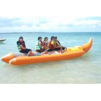 Wholesale CE Authenticate PVC or Hypalon inflatable banana boat water sled from china suppliers