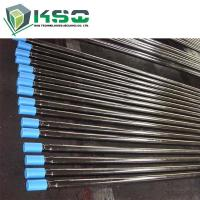 CNC Milling T51 Rock Drilling Tools Threaded Drill Rod Flushing Hole 21.5 mm