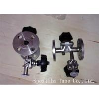 China TP304 TP316L SF1 Polished Santiary Fittings Valves For Beverage Dairy Wind Equipment on sale