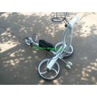 Wholesale Top quality Stainless steel Golf Trolley Li-ion Golf trolley golf buggy from china suppliers