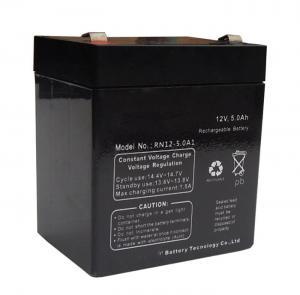 Wholesale Black Sealed Lead Acid Battery 12v 5ah / Rechargeable Sealed Lead Acid Battery 12v from china suppliers