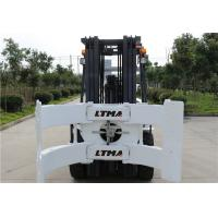 2.5 Ton 3 Ton Paper Roll Clamp Truck Forklift , Diesel Straight Mast Forklift