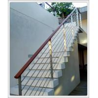 Wholesale Stainless steel inox metal staircase railing design & stainless steel rod railing from china suppliers
