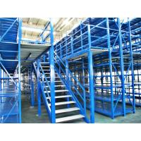 Wholesale Long Span Pallet Rack Mezzanine Catwalk Systems With Adjustable Steel Decking from china suppliers