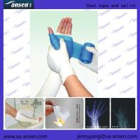 Wholesale High Polymer Bandage Aid Bandaging with Water-repellent Fiberglass Orthopedic foot splint polyester from china suppliers