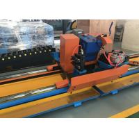 China Tengtian factory hot sale h.f pipe welding production line automatic steel pipe cold cutting machine on sale