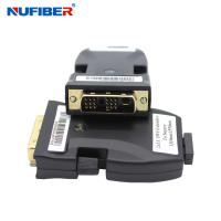 Wholesale DC5V 1A DVI To Fiber Extender SM 2xLC 1000meters Support 4Kx2K 1080P 60Hz from china suppliers