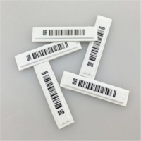 Wholesale Supermarket 58KHz 45*10.8mm Anti Shoplifting Label from china suppliers