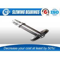 Wholesale Standard 42CrMo Precision Spur Gear Shaft , Worm Shaft And Worm Gear from china suppliers