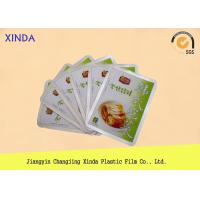 PET / CPP Plastic Packaging Bags with Side / Bottom / Back / Three Edge Sealing Type