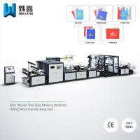 Wholesale Handle Attached Non Woven Bag Making Machine For T - shirt Bag Drawstring Bag from china suppliers