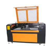 Low Cost 1300*90mm Steel Wood Acrylic Co2 Laser Cutting Machine with Double Heads