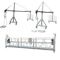 Wholesale Aluminum ZLP800 Suspended  Platform 7.5m  380V / 50HZ / 3P 100m Height from china suppliers