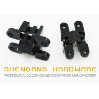 Single Action Invisible Cabinet Hardware Hinges , 180 Degree European Cabinet Hinges