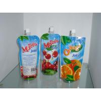 Wholesale Glossy Fruit Juice Stand Up Pouch Moisture Proof With Spout from china suppliers
