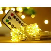 Wholesale 5M 50 LED Battery Operated String Lights With Remote Control Wedding Decorations from china suppliers