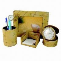 Wholesale Stationery Gift Set, Made of PU Leather from china suppliers