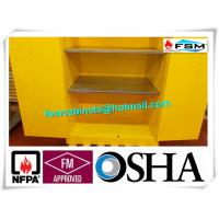 Wholesale Three Layers Grounding Flammable Gas Storage Cabinets 60 GAL for Chemical from china suppliers
