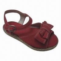 Wholesale Fashionable Kids' Flat Espadrille, Comes in Various Upper Designs, Water-resistant and Durable from china suppliers