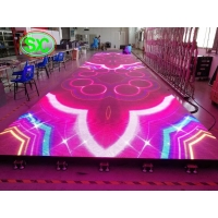 Wholesale indoor p6.25 smd full color led dance floor screen for disco hall, night club, T-stage from china suppliers