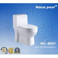 Wholesale Good Type Washdown One-Piece Toilet for Bathroom (8007) from china suppliers