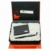 Wholesale Promotional Business Gift Set with Metal Pen from china suppliers