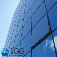 Buy cheap curtain wall Laminated glass sheet 6mm+6mm 8mm+8mm 10mm+10mm from Wholesalers