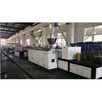 Wholesale Conical Double Extruder PVC Foam Board Extrusion Line , PVC Foam Board Making Machine from china suppliers