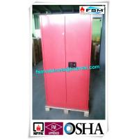 Wholesale 45 Gallon Red Flammable Goods Storage Cabinets Lockable For Paints And Inks from china suppliers