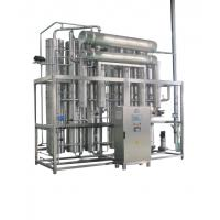 China 100% Heat Exchange Pharmaceutical Water Treatment Multi - Effect Water Distiller on sale
