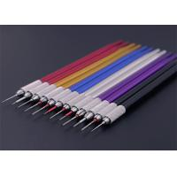 Wholesale Multiple Colour Semi Permanent Eyebrow Tattoo Pen Round Lock Needle from china suppliers